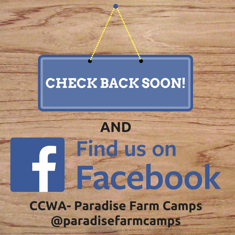 CCWA- Paradise Farm Camps